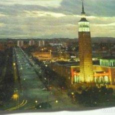Postales: POSTAL ZARAGOZA.-FERIA MUESTRAS -Y AVENIDA I.CATOLICA. Lote 210705937