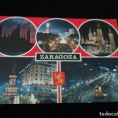 Postales: ZARAGOZA BELLEZAS DE LA CIUDAD, ED. COMERCIAL ZARAGOZA. Lote 210817696