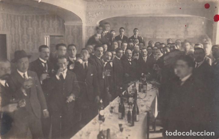 """POSTAL FOTOGRAFICA DE BARBASTRO - HUESCA- """"SOCIEDAD LA PEÑA"""" PRINCIPIOS DE SIGLO ---EXCELENTE----- (Postales - España - Aragón Antigua (hasta 1939))"""