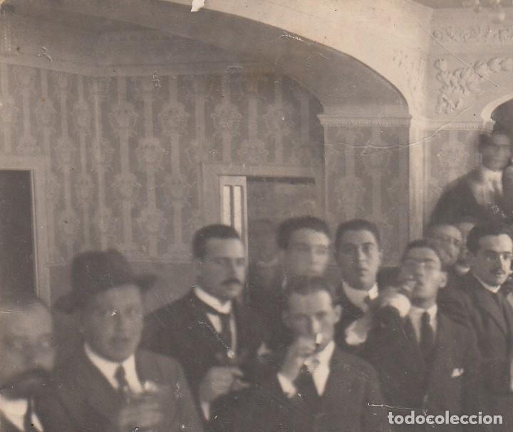 """Postales: POSTAL FOTOGRAFICA DE BARBASTRO - HUESCA- """"SOCIEDAD LA PEÑA"""" PRINCIPIOS DE SIGLO ---EXCELENTE----- - Foto 2 - 211276557"""