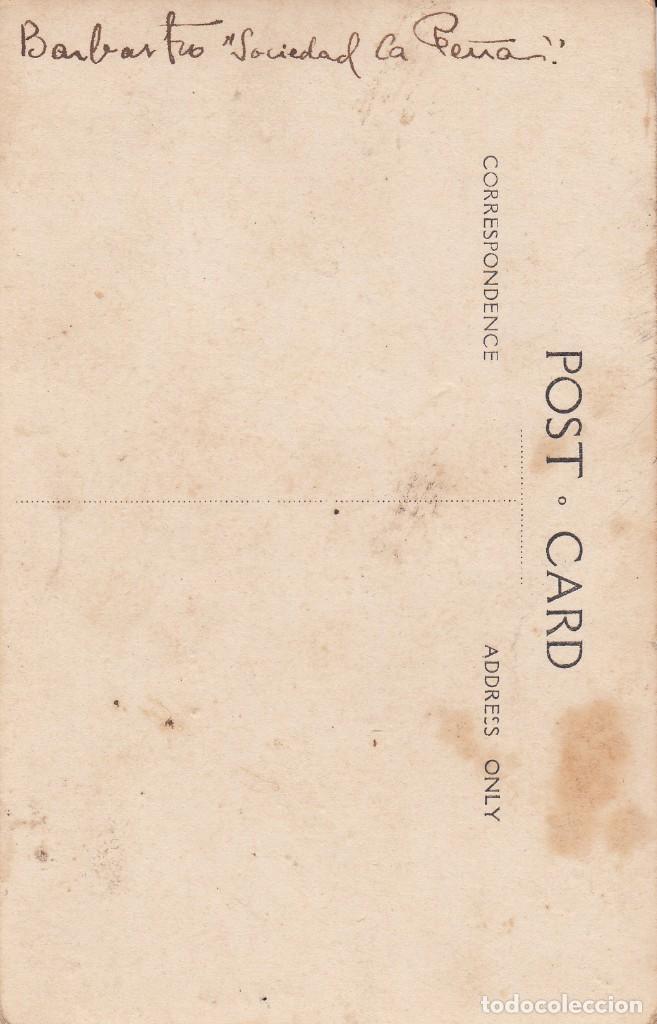 """Postales: POSTAL FOTOGRAFICA DE BARBASTRO - HUESCA- """"SOCIEDAD LA PEÑA"""" PRINCIPIOS DE SIGLO ---EXCELENTE----- - Foto 4 - 211276557"""