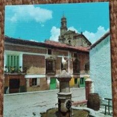 Postales: ORIHUELA DEL TREMENDAL - TERUEL - FUENTE Y PARROQUIA. Lote 211451806
