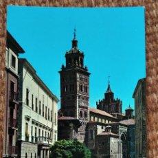 Postales: TERUEL - PLAZA DEL AYUNTAMIENTO Y CATEDRAL. Lote 211451881