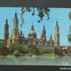 Postales: POSTAL SIN CIRCULAR - ZARAGOZA 4 - BASILICA DEL PILAR - EDITA VALMAN. Lote 211521804