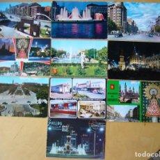 Postales: LOTE 30 POSTALES DE ZARAGOZA. Lote 211650333
