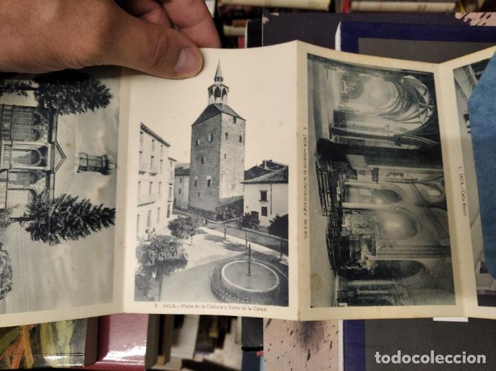 Postales: RECUERDO DE JACA . 10 VISTAS. EDICIÓN F. DE LAS HERAS . POSTALES D EJACA Y SU COMARCA . ARAGÓN - Foto 2 - 213672425