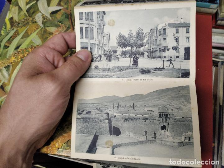 Postales: RECUERDO DE JACA . 10 VISTAS. EDICIÓN F. DE LAS HERAS . POSTALES D EJACA Y SU COMARCA . ARAGÓN - Foto 3 - 213672425
