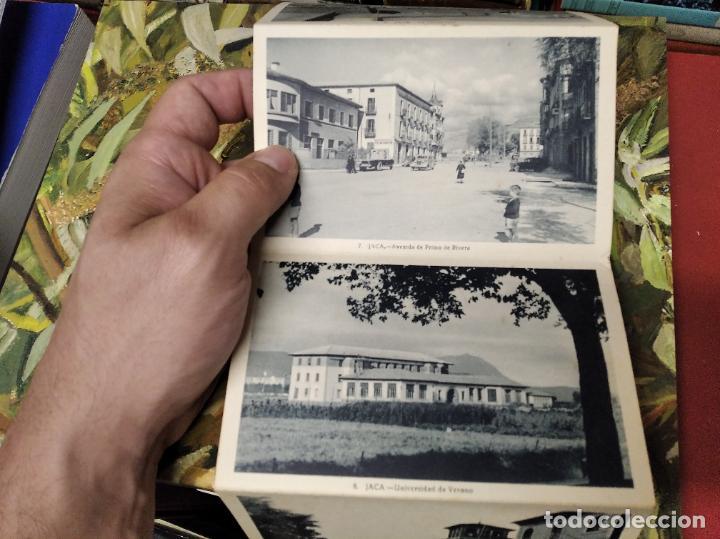 Postales: RECUERDO DE JACA . 10 VISTAS. EDICIÓN F. DE LAS HERAS . POSTALES D EJACA Y SU COMARCA . ARAGÓN - Foto 4 - 213672425