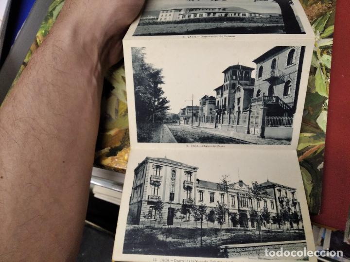 Postales: RECUERDO DE JACA . 10 VISTAS. EDICIÓN F. DE LAS HERAS . POSTALES D EJACA Y SU COMARCA . ARAGÓN - Foto 5 - 213672425