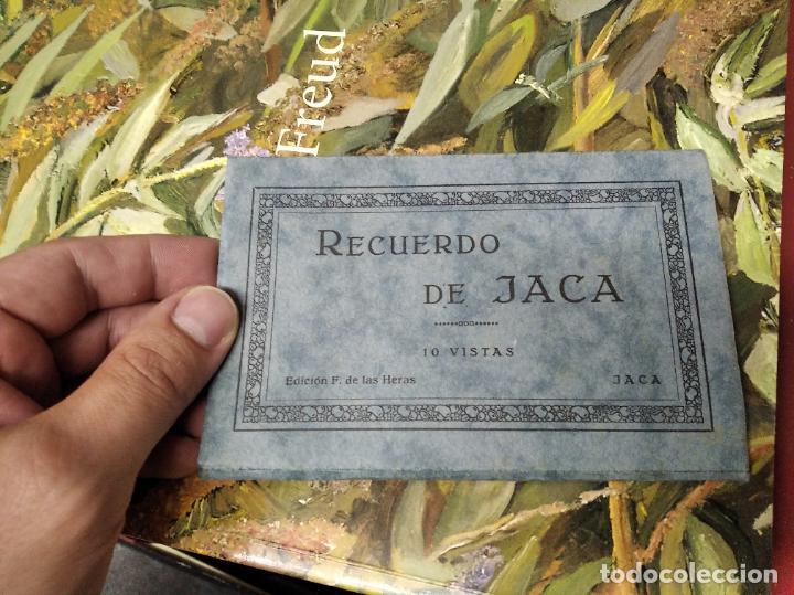 RECUERDO DE JACA . 10 VISTAS. EDICIÓN F. DE LAS HERAS . POSTALES D EJACA Y SU COMARCA . ARAGÓN (Postales - España - Aragón Antigua (hasta 1939))