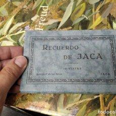 Postales: RECUERDO DE JACA . 10 VISTAS. EDICIÓN F. DE LAS HERAS . POSTALES D EJACA Y SU COMARCA . ARAGÓN. Lote 213672425