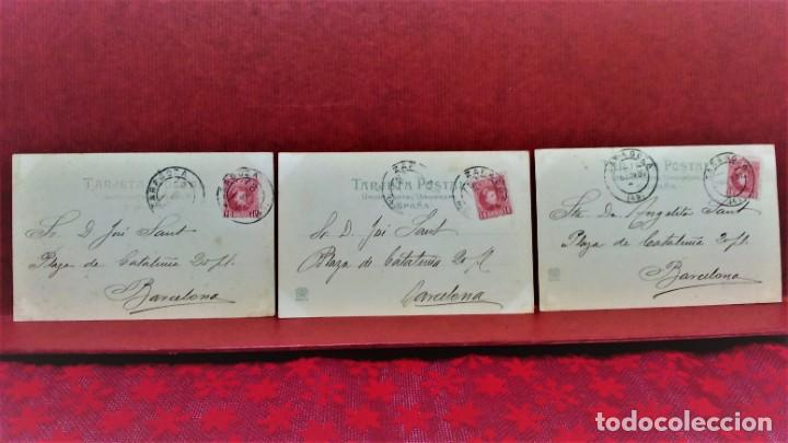 Postales: LOTE DE 7 POSTALES DE ZARAGOZA.ENTRE 1906 A 1909. - Foto 7 - 213927593