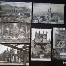 Postales: LOTE DE 6 POSTALES DE ARAGÓN. 3 POSTALE DE HUESCA Y 3 DE ZARAGOZA. AÑOS 50.. Lote 214048080