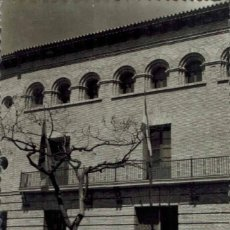 Postales: BARBASTRO, HUESCA. Nº 28, FACHADA AYUNTAMIENTO Y GRUPO REGIONAL. FOTOGRÁFICA ED. SICILIA. Lote 214152438