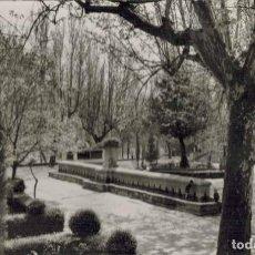 Postales: ALCAÑIZ, TERUEL. Nº 11, VISTA PARCIAL DE LA GLORIETA DE D. TELMO LACASA. FOTOGRÁFICA ED. SICILIA. Lote 214152526