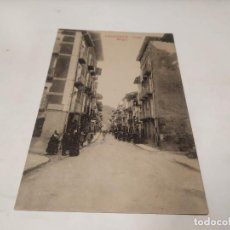 Postais: ZARAGOZA - POSTAL SANGÜESA - CALLE MAYOR. Lote 215361458