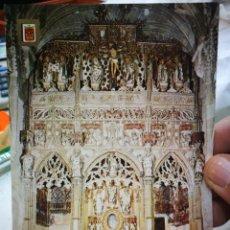 Cartoline: POSTAL DAROCA ZARAGOZA CAPILLA SAGRADOS CORPORALES GÓTICO BORGOÑÓN S.XV N 3 ESCUDO DE ORO S/C. Lote 215569495