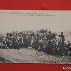Postales: PANTANO DE LA PEÑA (HUESCA). Lote 215730526