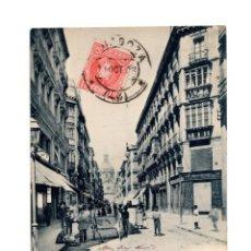 Postales: ZARAGOZA.- CALLE DE ALFONSO. HAUSER Y MENET. RARA. Lote 216729727