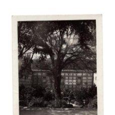Postales: ZARAGOZA.- MONASTERIO DE PIEDRA. PATIO DE SAN MARTÍN. POSTAL FOTOGRÁFICA.. Lote 293919713