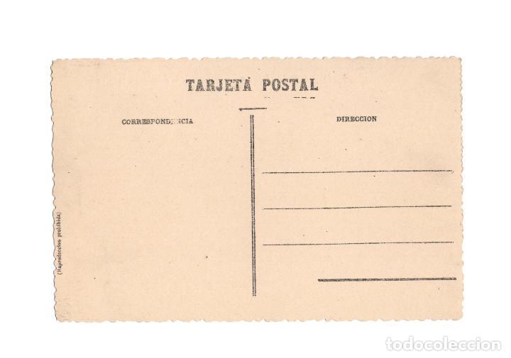 Postales: MEQUINENZA.(ZARAGOZA).- PLAZA DEL SOL Y CALLE DE LA IGLESIA. - Foto 2 - 216816636