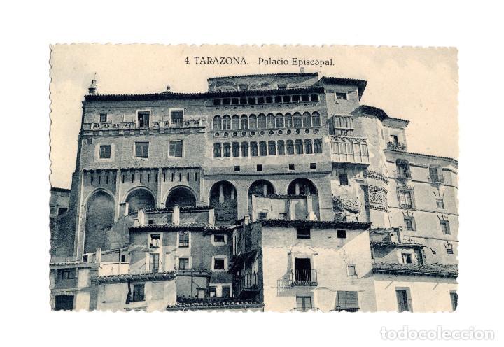 TARAZONA.(ZARAGOZA).- PALACIO EPISCOPAL. (Postales - España - Aragón Antigua (hasta 1939))