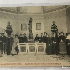 Postales: PANTICOSA ,HUESCA , ARAGÓN ,BALNEARIO , FUENTE DEL HÍGADO .. Lote 217151683