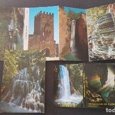 Postales: VARIOS DESPLEGABLES POSTALES MONASTERIO DE PIEDRA. Lote 217487430