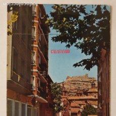 Cartes Postales: CALATAYUD - CALLE PADRE CLARET - AL FONDO EL CASTILLO E IGLESIA DEL SANTO SEPULCRO - LMX - ZAR2. Lote 218941516
