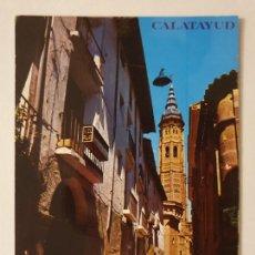 Cartes Postales: CALATAYUD - CALLE GRACIÁN Y TORRE DE SANTA MARÍA - LMX - ZAR2. Lote 218941663