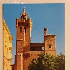 Cartes Postales: EJEA DE LOS CABALLEROS - IGLESIA DE EL SALVADOR - LMX - ZAR2. Lote 218942515
