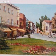 Cartes Postales: BINÉFAR - AVENIDA DEL GENERALÍSIMO - JARDINES - HUESCA - LMX - HCA1. Lote 219081990