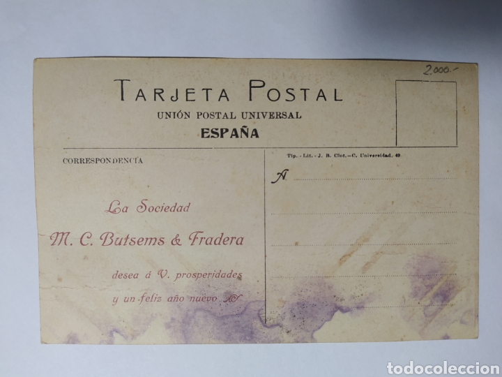 Postales: ZAIDÍN, HUESCA, ARAGÓN, PORTLAND, PUBLICIDAD BUTSEMS, Y FRADERA - Foto 2 - 219274120