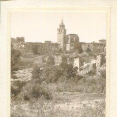 Postales: TERUEL-ALBARRACÍN-VISTA PARCIAL-FOTOGRÁFICA AÑO 1930- ÚNICA. Lote 219585346