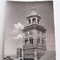 Postales: TERUEL. TORRE DE LA CATEDRAL. FOTO SICILIA. Lote 219635101