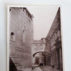 Postales: ZARAGOZA. FACHADA DE MOSAICO DE LA ANTIGUA CATEDRAL. FOTO JALÓN. EDICIONES UNIQUE. Lote 219635760