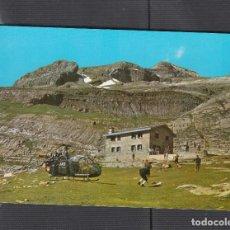 Cartes Postales: Nº 15 ORDESA..REFUGIO DELGADO UBEDA. SECTOR GORITZ. Lote 220410358