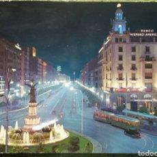 Cartoline: POSTAL N°64 PLAZA DE ESPAÑA Y AVENIDA DE LA INDEPENDENCIA ZARAGOZA. Lote 221151587