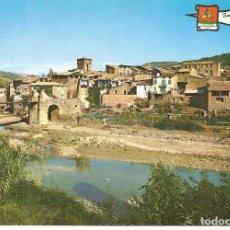 Postales: POSTAL, PUENTE MONTAÑANA-HUESCA, VISTA PARCIAL, ED. CASA TORRES, SIN CIRCULAR. Lote 221569270