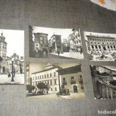 Postales: LOTE POSTALES TERUEL ANTIGUAS ARAGON. Lote 221605320
