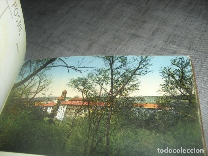 Postales: bloque lote postales monasterio Piedra Zaragoza antiguas coloreadas - Foto 8 - 222036801