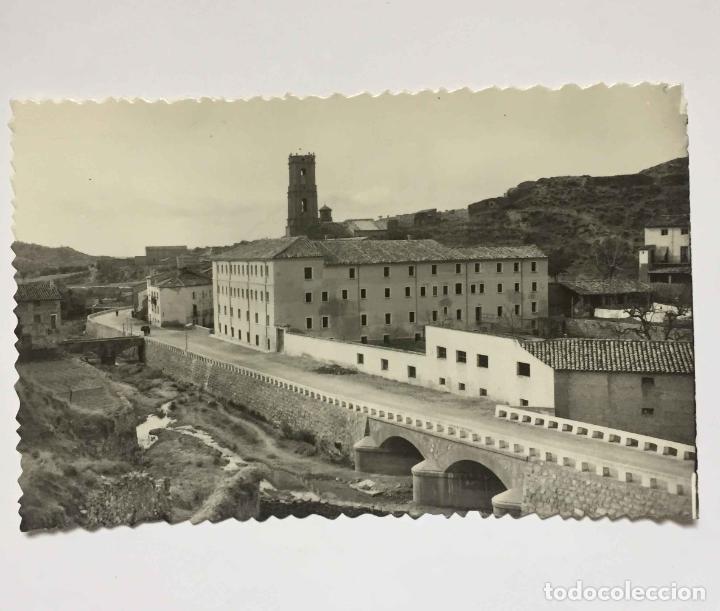 Postales: 4 tarjetas postales: PERALTA DE LA SAL (Huesca, 1950-60's) Sin circular. ¡Originales! Coleccionista - Foto 3 - 222039537