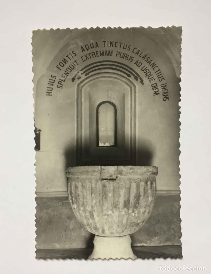 Postales: 4 tarjetas postales: PERALTA DE LA SAL (Huesca, 1950-60's) Sin circular. ¡Originales! Coleccionista - Foto 5 - 222039537