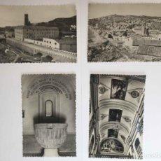 Postales: 4 TARJETAS POSTALES: PERALTA DE LA SAL (HUESCA, 1950-60'S) SIN CIRCULAR. ¡ORIGINALES! COLECCIONISTA. Lote 222039537