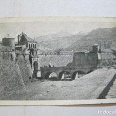 Postales: JACA-LA CIUDADELA-AL FONDO RAPITAN Y COLLARADA-FOTO HERAS-POSTAL ANTIGUA-(75.246). Lote 222588911