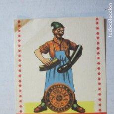 Postales: BARCELONA-J. BALART & C.-CREMA PARA EL CALZADO-CALENDARIO AÑO 1952-VER FOTOS-(75.248). Lote 222589710