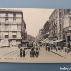 Postales: POSTAL ZARAGOZA Nº 10 CALLE DEL COSO EDIC LL ARAGON PRECIOSO TRANVIA PERFECTA CONSERVAC. Lote 222611047