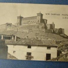 Postales: TERUEL CASTILLO ALCAÑIZ C. ESCUIN Nº 14. POSTAL FOTOGRÁFICA. Lote 222700108