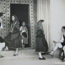 Postales: ARAGON-PAREJAS TIPICAS ARAGONESAS-DARVI EDICIONES-POSTAL ANTIGUA-(75.309). Lote 222710390
