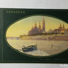 Cartes Postales: ZARAGOZA , ARAGÓN , DIORAMA , BEBE POSTAL , RÍO EBRO Y TEMPLO DEL PILAR .. Lote 222822446